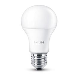 Philips LED Lampe ersetzt 60 W, EEK A+, E27, warmweiß (2700 Kelvin), 806 Lumen, matt, 8718696490860 - 1