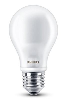 Philips LEDclassic Lampe ersetzt 60 W, EEK A++, E27, warmweiß (2700 Kelvin), 806 Lumen, klar, 8718696472187 - 1